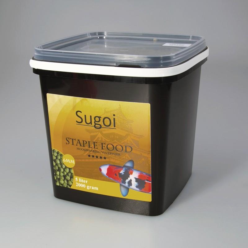Sugoi staple food 6 mm 5 liter